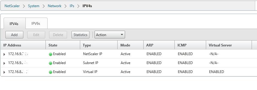 Netscaler IP